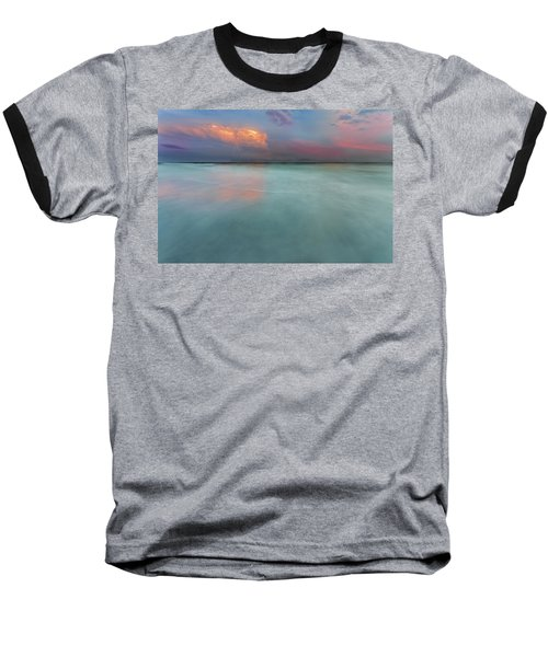 Sunset On Hilton Head Island Baseball T-Shirt