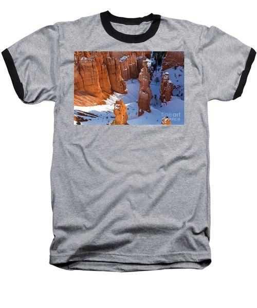 Sunset Point Bryce Canyon National Park Baseball T-Shirt