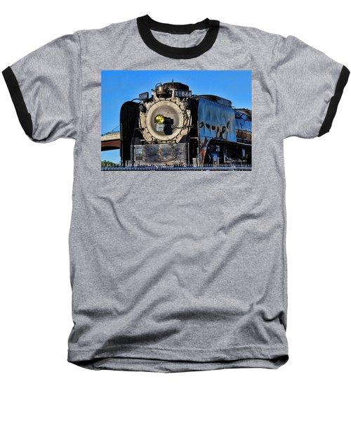 844 Locomotive Baseball T-Shirt