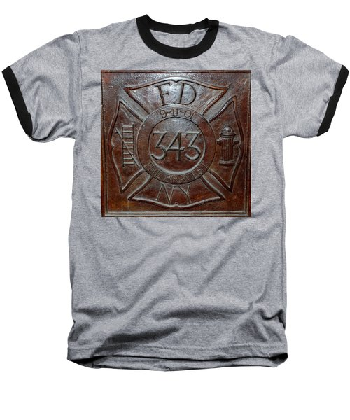 9 11 01 F D N Y 343 Baseball T-Shirt