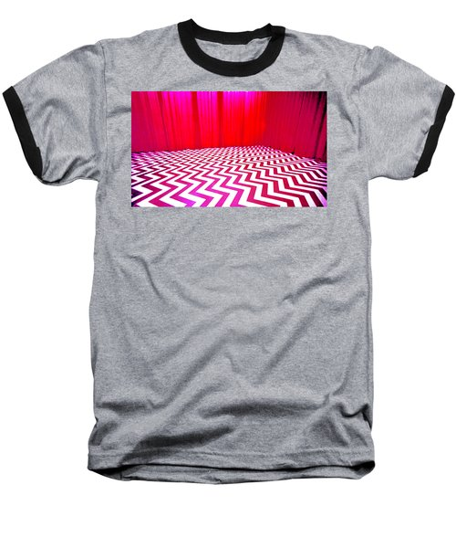 Black Lodge Baseball T-Shirt