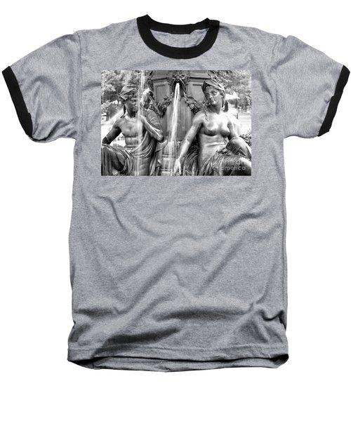 Brewer Fountain Boston Ma Baseball T-Shirt