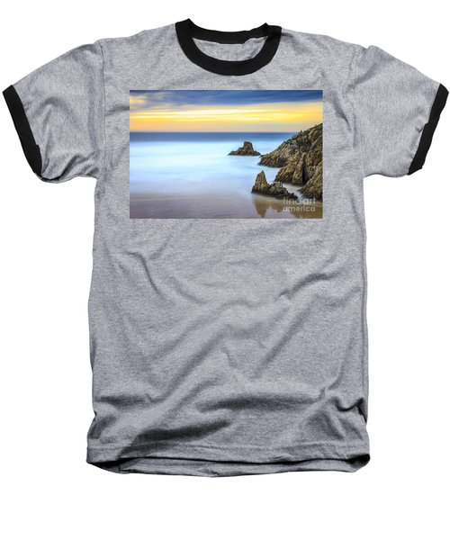 Campelo Beach Galicia Spain Baseball T-Shirt