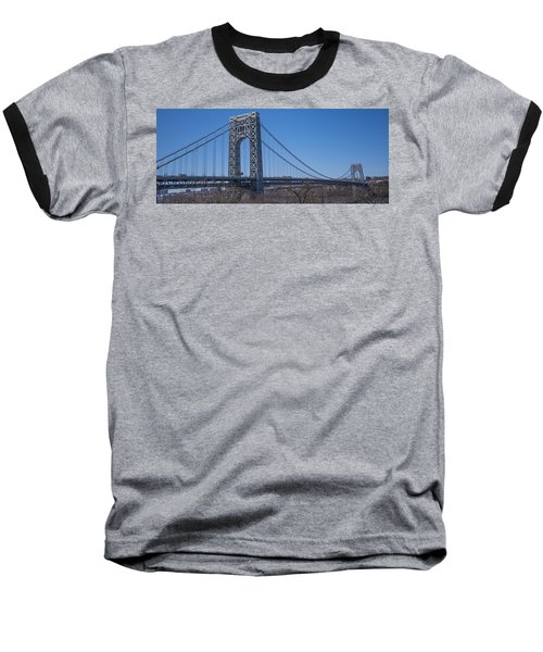 George Washington Bridge Baseball T-Shirt