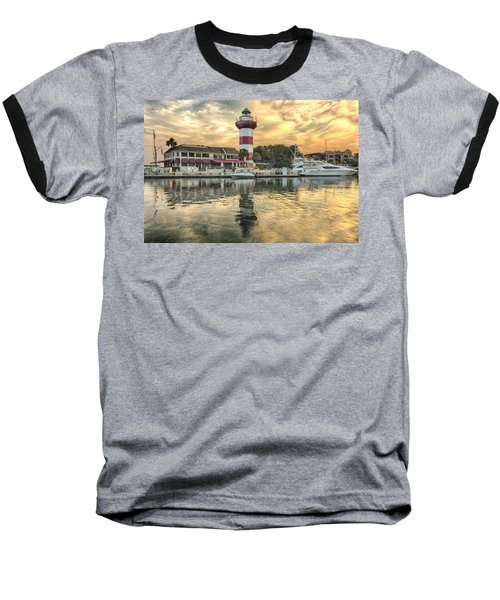 Lighthouse On Hilton Head Island Baseball T-Shirt