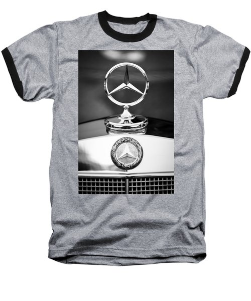 Mercedes-benz Hood Ornament Baseball T-Shirt