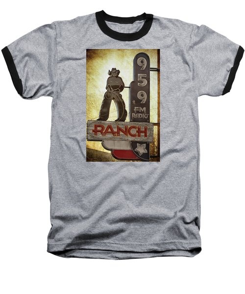 95.9 The Ranch Baseball T-Shirt