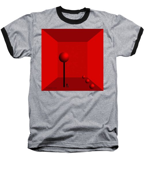 980 -    For Ever  Trapped Baseball T-Shirt