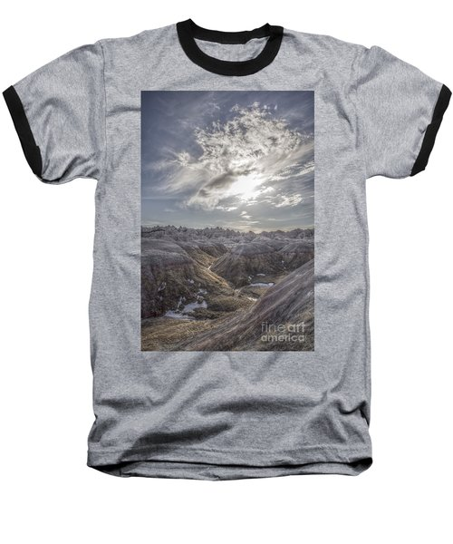 A Badlands Afternoon Baseball T-Shirt