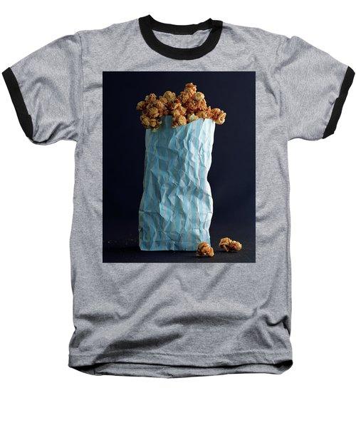 A Bag Of Popcorn Baseball T-Shirt