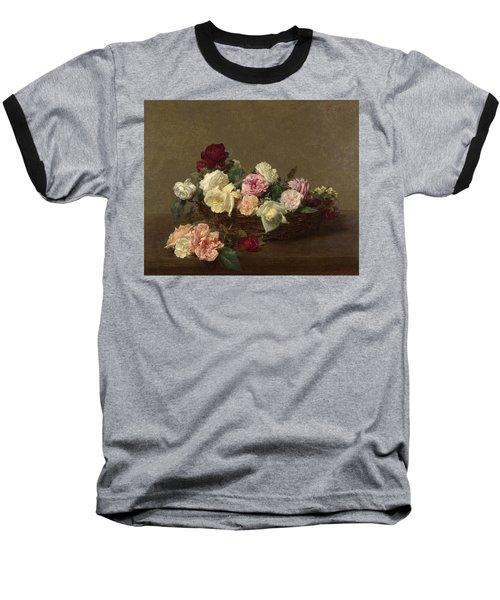 A Basket Of Roses Baseball T-Shirt