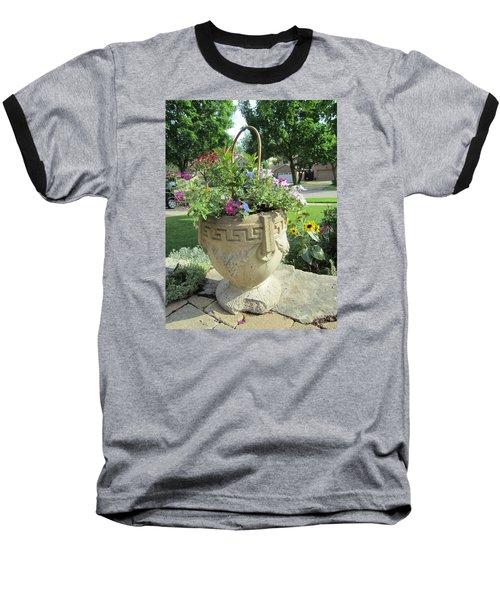Baseball T-Shirt featuring the photograph A Basket Summer  by Jieming Wang