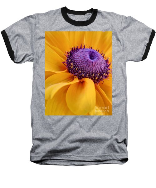 Baseball T-Shirt featuring the photograph A Beautiful Black Eye by Heidi Smith