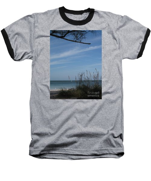 A Beautiful Day At A Florida Beach Baseball T-Shirt by Christiane Schulze Art And Photography