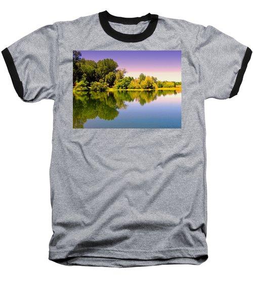 A Beautiful Day Reflected Baseball T-Shirt
