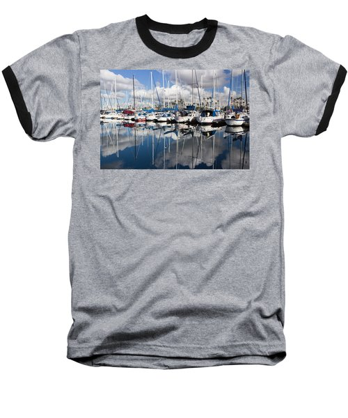 A Beautiful Morning Baseball T-Shirt by Heidi Smith