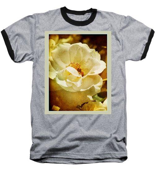 A Bee And Rose Baseball T-Shirt