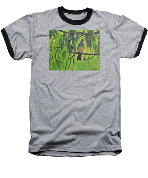 A Bird Looking At Me Baseball T-Shirt