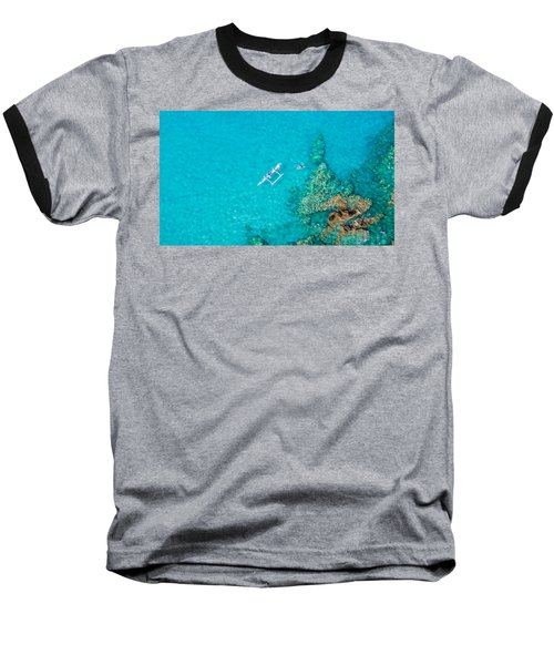 A Bird's Eye View Baseball T-Shirt