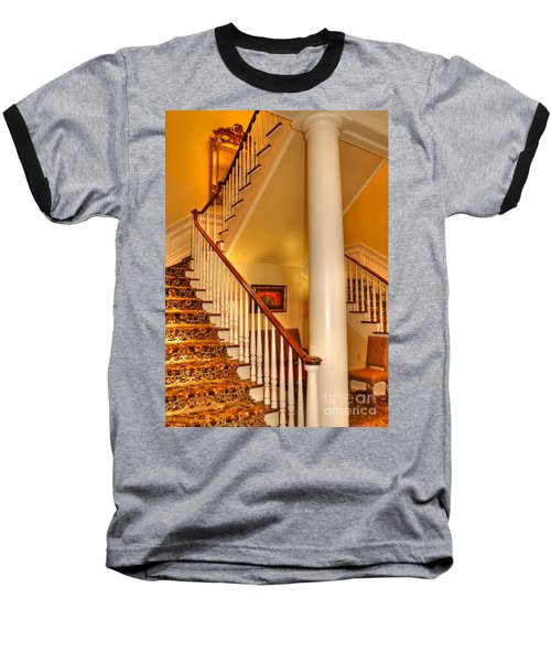 Baseball T-Shirt featuring the photograph A Bit Of Southern Style by Kathy Baccari