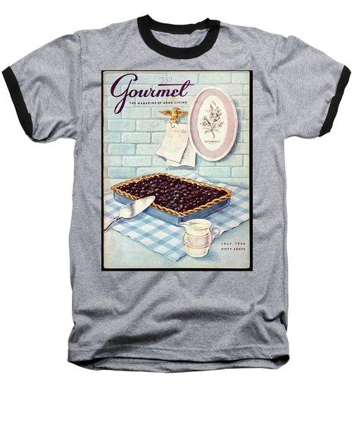 A Blueberry Tart Baseball T-Shirt