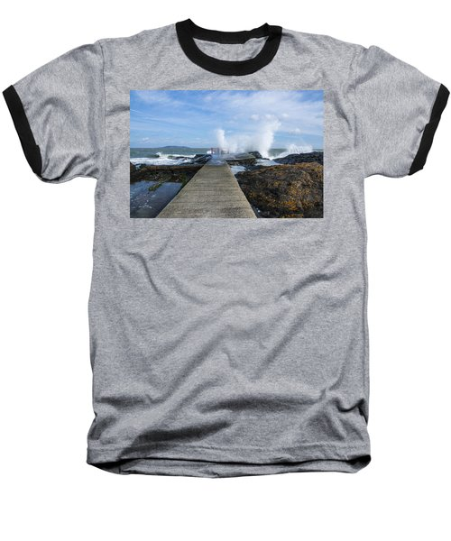 A Blustery Day At High Rock Baseball T-Shirt