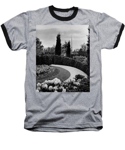 A Bobbink & Atkins Garden Baseball T-Shirt