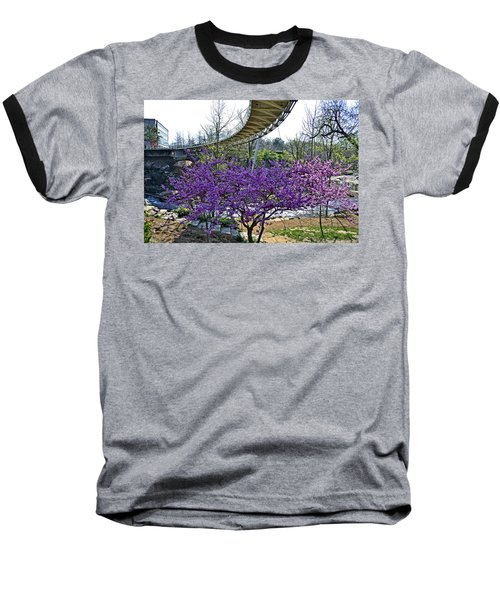 Baseball T-Shirt featuring the photograph A Bridge To Spring by Larry Bishop