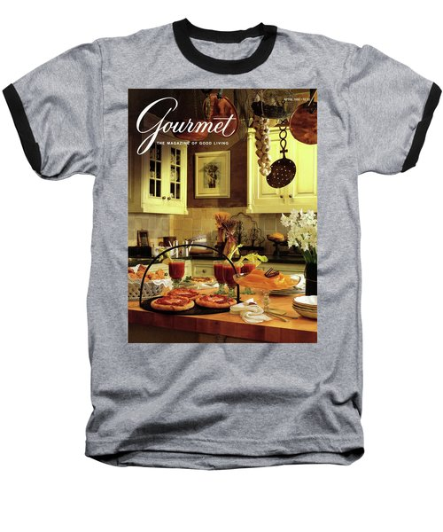 A Buffet Brunch Party Baseball T-Shirt