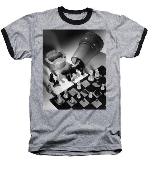 A Chess Set Baseball T-Shirt