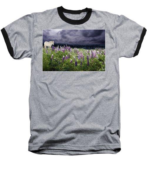 A Childs Dream Among Lupine Baseball T-Shirt