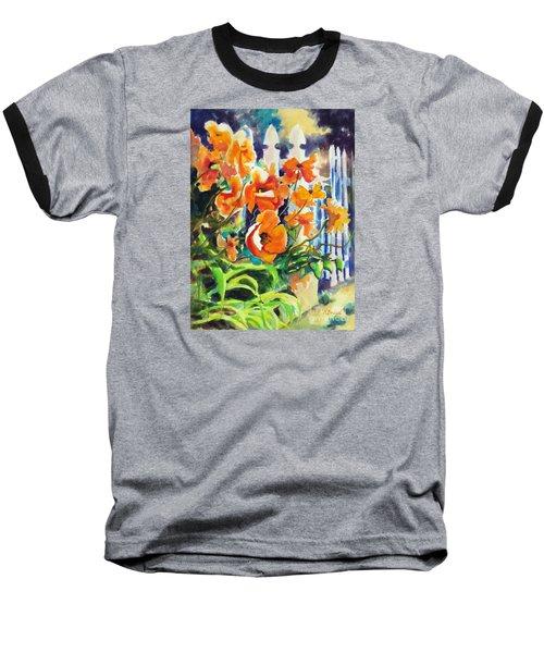 A Choir Of Poppies Baseball T-Shirt by Kathy Braud