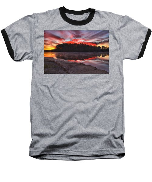 A Christmas Eve Sunrise Baseball T-Shirt