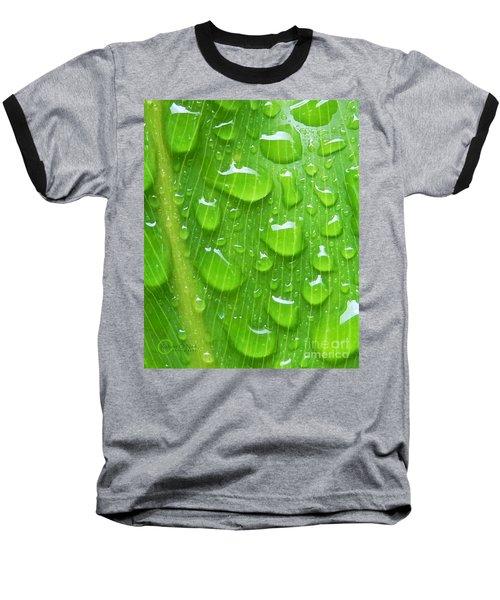 Baseball T-Shirt featuring the photograph A Cleansing Morning Rain by Robert ONeil