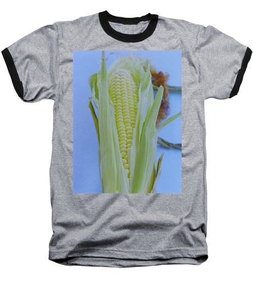 A Cob Of Corn Baseball T-Shirt