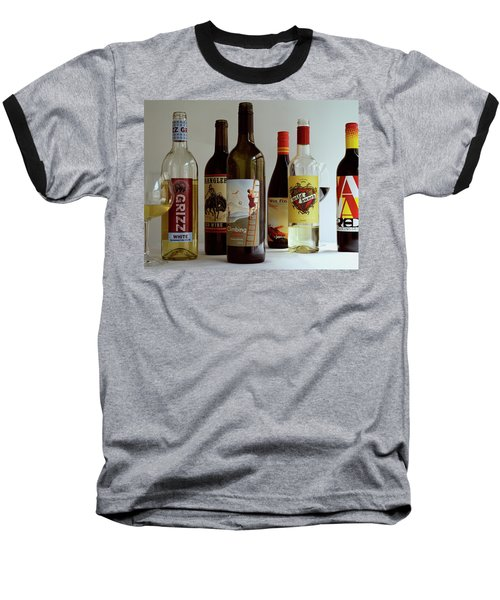 A Collection Of Wine Bottles Baseball T-Shirt