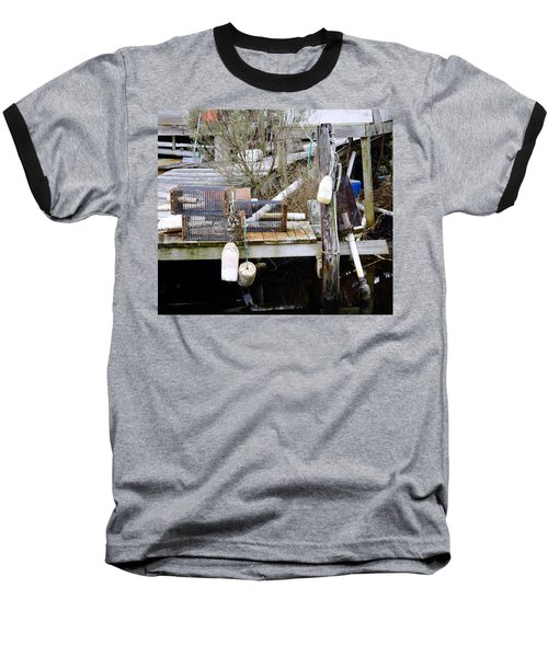 A Crab Fishermans Still Life Baseball T-Shirt