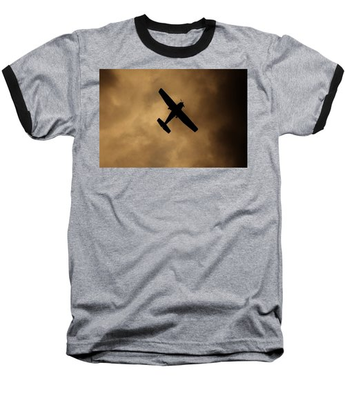 Baseball T-Shirt featuring the photograph A Dance In The Clouds by Jessica Shelton