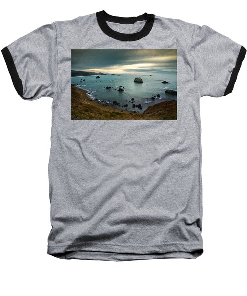 A Dark Day At Sea Baseball T-Shirt