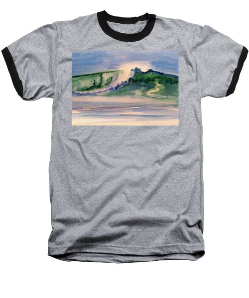 A Day At The Beach 3 Baseball T-Shirt by Hae Kim
