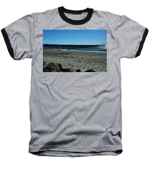 Baseball T-Shirt featuring the photograph A Day At The Beach by Michael Gordon