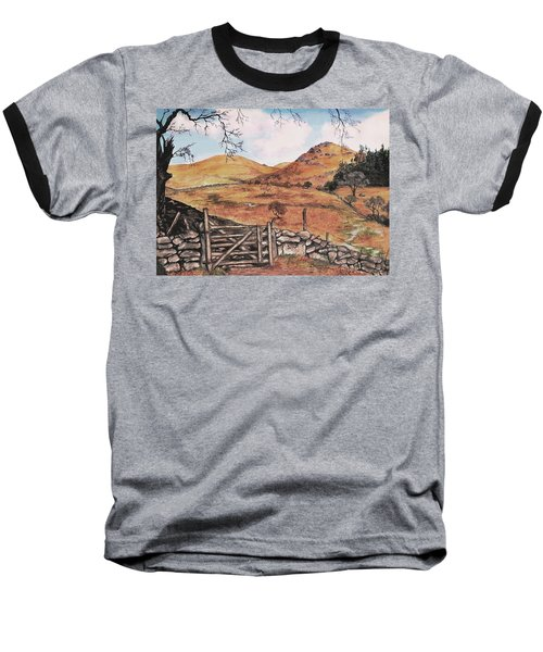 A Day In The Country Baseball T-Shirt by Sophia Schmierer