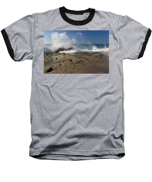 Baseball T-Shirt featuring the photograph A Day Like Today by Heidi Smith