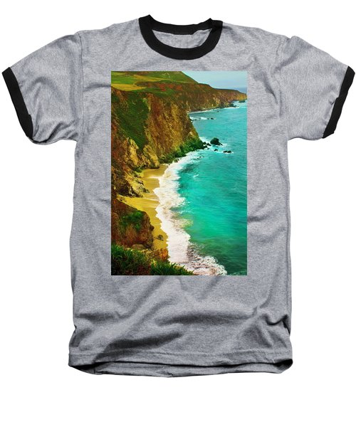 A Day On The Ocean Baseball T-Shirt