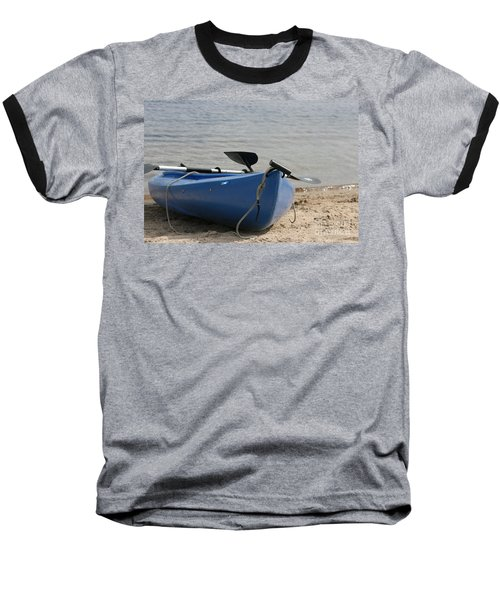 A Day On The Water Baseball T-Shirt by Barbara Bardzik