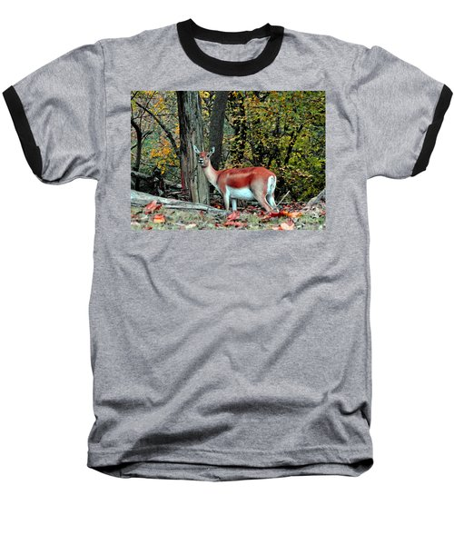A Deer Look Baseball T-Shirt