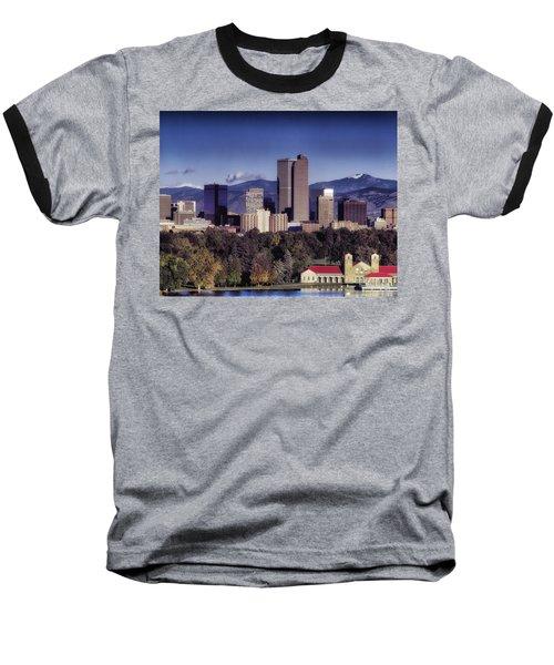 A Denver Autumn Baseball T-Shirt