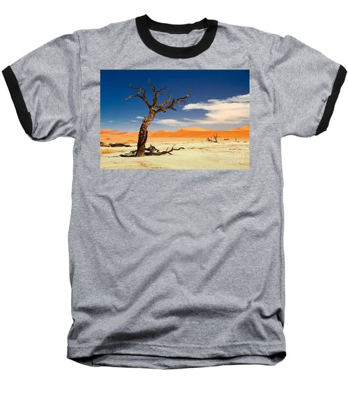 Baseball T-Shirt featuring the photograph A Desert Story by Juergen Klust
