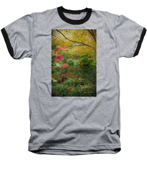 A Fall Afternoon With Message Baseball T-Shirt