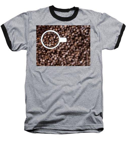 A Familiar Blend Baseball T-Shirt by Aaron Aldrich